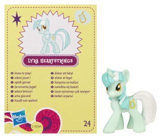 My Little Pony Friendship is Magic 2 Inch PVC Figure Series 4 Lyra Heartstrings Toys & Games