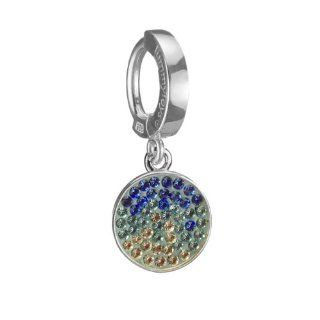 TUMMYTOYS SILVER BELLY RING BLUE SAPPHIRE SWAROVSKI DISC made by TummyToys�. Our specialty is belly button rings but we are now making more jewelry to match so look for our pendants, earrings and other body jewelry on . We make sexy jewelry that looks beau