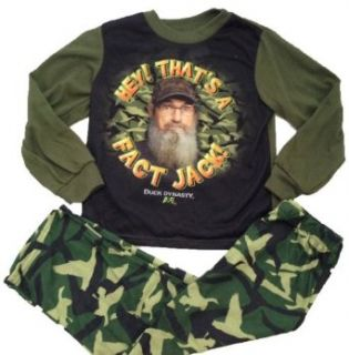 Duck Dynasty  Hey That's a Fact Jack   Toddler's Pajamas: Clothing