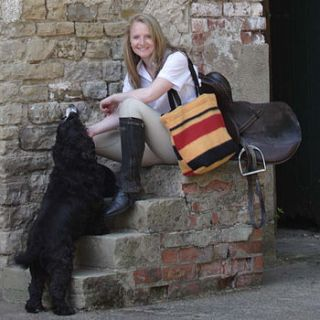shires horse blanket tote bag by umpie yorkshire