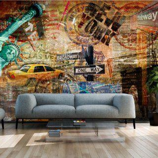 Vlies Tapete  Top  Fototapete  Wandbilder XXL  350x270 cm   New York 10040904 56 Küche & Haushalt