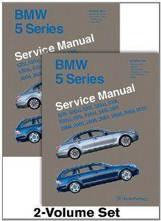 BMW 5 Series E60, E61 Service Manual 2004, 2005, 2006, 2007, 2008, 2009, 2010 525i, 525xi, 528i, 528xi, 530i, 530xi, 535i, 535xi, 545i, 550i Bentley Publishers Fremdsprachige Bücher