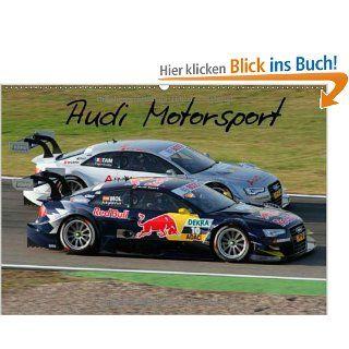Audi Motorsport Wandkalender 2014 DIN A4 quer : Fotos aus der Saison 2012 Monatskalender, 14 Seiten: Thomas Morper: Bücher