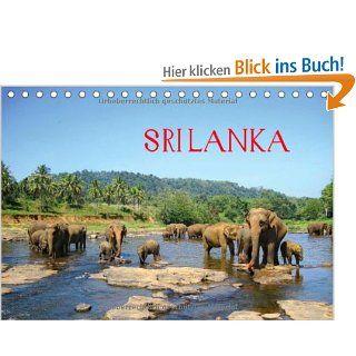 Sri Lanka Tischkalender 2014 DIN A5 quer : Wunderbare Impressionen von der Insel im Indischen Ozean Tischkalender, 14 Seiten: Clemens Rasch: Bücher
