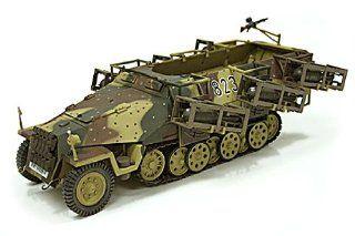 "21St Century 1/18 scale SdKfz 251/1 ""Stuka zu Fuss"" German WWII Halftrack Toys & Games"