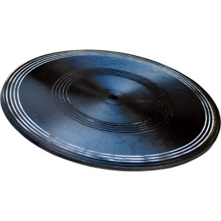 Vestil Heavy-Duty Manual Turntable — 1000-Lb. Capacity, 24in. Dia., 7/8in.H, Model# TT-24-7/8  Turntables
