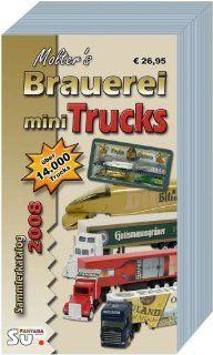 Molter's Mini Truck Sammlerkatalog 2008 Katalog f�r Brauerei , Gertr�nke  und Werbetrucks. �ber 14000 farbig abgebildete und bewertete Fahrzeuge Horst Molter, Michael Steiner Bücher