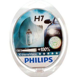 Philips X treme Vision H7 100% mehr Licht NEU! 2er Set: Auto