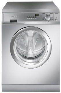 Smeg WD1600X7 Waschmaschine / AAA / 1600 UpM / 5 kg / 0.95 kWh / 47 Liter / Digitalanzeige / edelstahl: Elektro Gro�ger�te