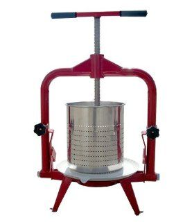 TSM 14 Liter Deluxe Stainless Steel Fruit and Wine Press Kitchen & Dining