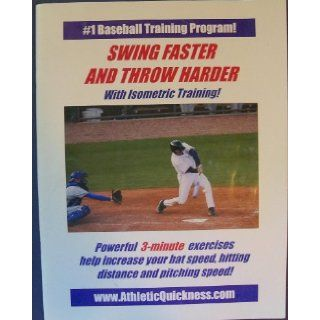 Swing Faster and Throw Harder with Isometric Training!   Powerful 3 minute Exercises Help Increase Your Bat Speed, Hitting Distance and Pitching Speed! (#1 BASEBALL TRAINING PROGRAM!): Dr. Larry Van Such: 9780967907017: Books
