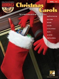 Christmas Carols   Harmonica Play Along Volume 11   Book and CD Package Musical Instruments