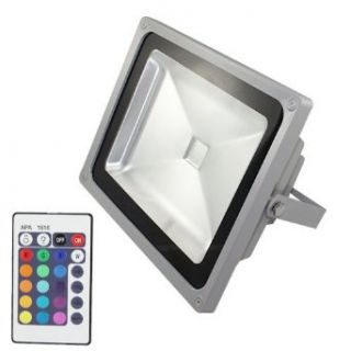 JN@ 4 Pack Waterproof 50W RGB LED Flood Light Outdoor Lamp Garden Yard Wall 85 265V with Remote