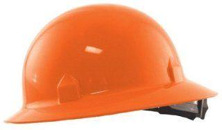 Jackson Safety 3014874 Block Head Full Brim Hard Hat 8 Point Ratchet Suspension   White (20697)   Hardhats