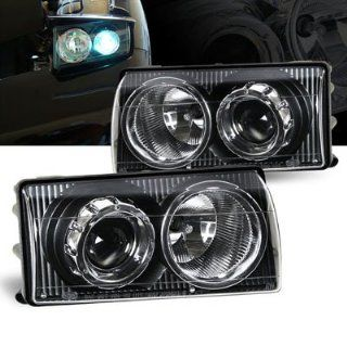 1997 2004 Chevy Corvette C5 Projector Headlights Black: Automotive