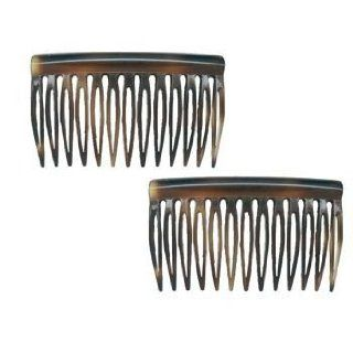 Karina   French Couture Side Combs, Set of 2   Tort #K293X2 : Hair Combs : Beauty