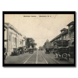 Bloomfield Ave., Montclair, New Jersey Vintage Post Cards