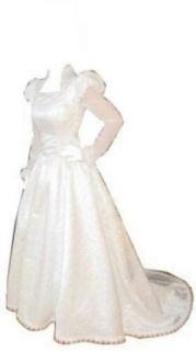 Anne Boleyn Wedding Dress Size 4 at  Women�s Clothing store: Princess Wedding Dress For Bride
