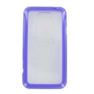 HTC Evo 3D Purple Frame Case Electronics