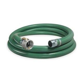 Suction Hose, 1.5 In IDx20 Ft, 89 PSI Max