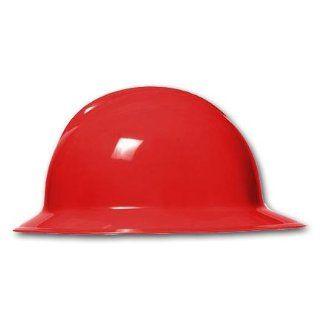 Bullard C33 Classic Full Brim Hard Hat w/ Ratchet Suspension, Red   Hardhats