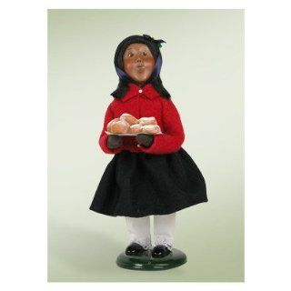 Shop African American Salvation Army Girl with Doughnuts Figurine at the  Home D�cor Store