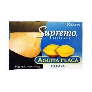 Supremo Te Aguita Flaca Papaya : Fresh Papayas Produce : Grocery & Gourmet Food