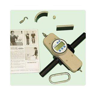 Baseline Hydraulic Push/Pull Dynamometer 500 lb./25kg. Digital Gauge   Model 557091 Health & Personal Care