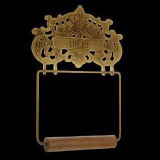 Toilet Paper Holder Antique Brass, Princess Crown Tissue Holder Antique Br.  17530