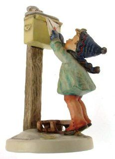 c1964 HUM340 Hummel A Letter to Santa Claus   NEGR43   Collectible Figurines