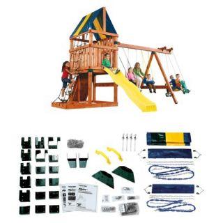 Alpine Custom Wooden Play Set Kit