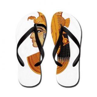 Artsmith, Inc. Women's Flip Flops (Sandals) Egyptian Pharaoh Queen Clothing