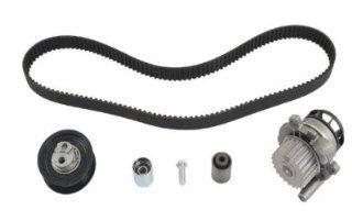 Audi A4 05 08 Turbo 2.0 Water Pump Timing Belt Tensioner Kit TB334LK1 Automotive