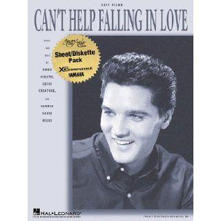 Can't Help Falling in Love Elvis Presley 9780634086557 Books