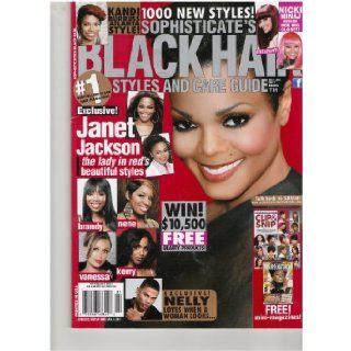 Sophisticate's Black Hair Styles & Care Guide Magazine (Janet Jackson, the lady inred's beautiful styles, Dec 2010/Jan 2011): Books