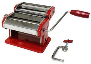 Metro Fulfillment House Italian Style Pasta Maker, Red Finish Kitchen & Dining