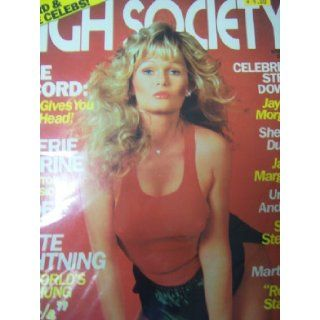 High Society Adults Only Magazine October 1980 Valerie Perrine 032112JB: High Society: Books