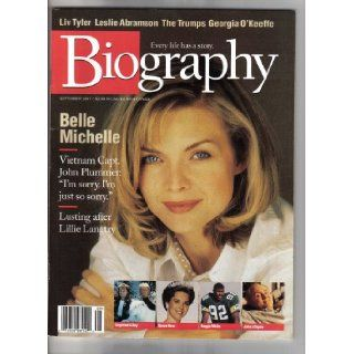 Biography MAgazine (Biography Magazine September 1997 Michelle Pffifer, September 1997) various Books