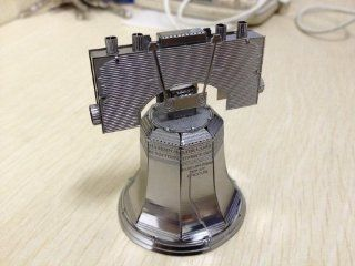 Fascinations MetalEarth 3D Laser Cut Model   Liberty Bell: Toys & Games