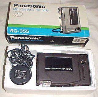 Panasonic Mini Cassette Recorder RQ 355