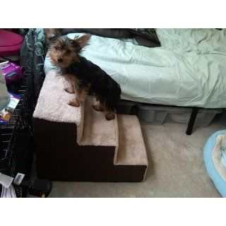 Brinkmann Pet Deluxe Pet Steps   3 Step  Dog Stairs