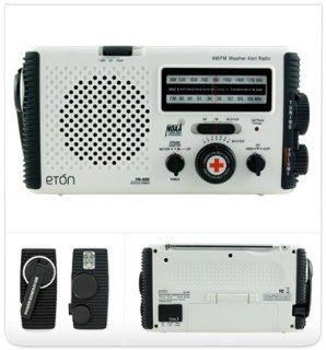 Eton American Red Cross FR405   Portable radio   white Electronics