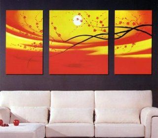 Modern Abstract Art Oil Painting STRETCHED READY TO HANG OPB389