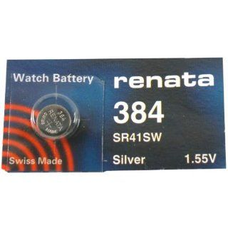 Renata 384 Silver Oxide Watch Battery Sr41sw Watches