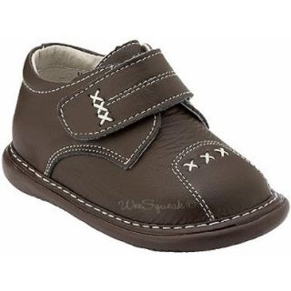 Wee Squeak Toddler Boys Brown Cross Design Shoes 10 Flats Shoes Shoes