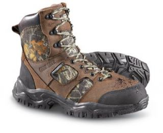 Men's Guide Gear Waterproof Non   insulated Vertex Hunting Boots Mossy Oak, MOSSY OAK, 9M: Hunting Shoes: Shoes