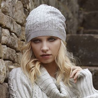 pure merino wool beanie by liv   organic & sustainable living