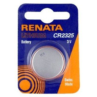 Renata Batteries CR2325 3V Lithium Coin Battery Carded (Pack of 1) Electronics