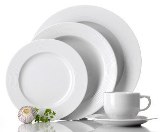 Aida Circo 20 Piece Porcelain Dinnerware Set, Service for 4: Kitchen & Dining