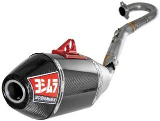 Yoshimura RS 4 Carbon/Titanium Exhaust System Suzuki Rmz 250 10 13: Automotive